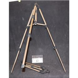 ZZ-CLEARANCE TRIPODS MATCHED PAIR COLLAPSIBLE BRAND NEW