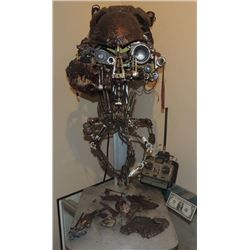 VIRUS ALIEN GOLIATH SCREEN MATCHED HERO ANIMATRONIC HEAD LIGHTS UP & WORKS WITH REMOTE