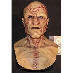 2 GUNS SCREEN MATCHED HERO FRANKENSTEIN MASK WORN BY DENZEL WASHINGTON