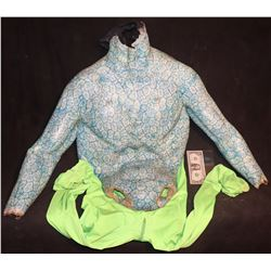 ALIEN CREATURE SUIT CHEST ON CHROMA KEY PANTS