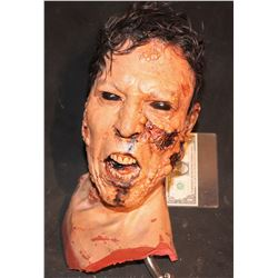 ZOMBIELAND DOUBLE TAP SCREEN USED SEVERED ZOMBIE HEAD KEEPER QUALITY GORE