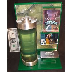 TEENAGE MUTANT NINJA TURTLES LARGE VIAL OF OOZE NICELY DISPLAYED