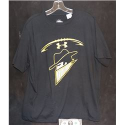 BATMAN THE DARK KNIGHT RISES SCREEN USED GOTHAM CITY ROGUES FOOTBALL SHIRT