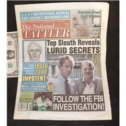 RED DRAGON SCREEN MATCHED HERO TATTLER NEWSPAPER REPORTING HANNIBAL LECTOR CASE