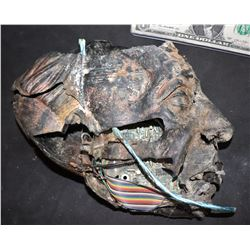 AI ARTIFICIAL INTELLIGENCE SCREEN USED ROBOT HEAD FROM JUNK YARD