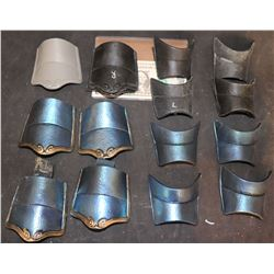 ZZ-CLEARANCE THE GREAT WALL COMMANDER LIN MAE WRIST ARMOR LOT OF 14