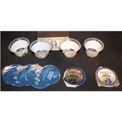 ZZ-CLEARANCE THE WAR WITH GRANDPA SCREEN USED DARCY'S YOGURT CUPS AND LIDS