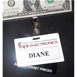ZZ-CLEARANCE THE WAR WITH GRANDPA SCREEN MATCHED DIANE FRYS BADGE JANE SEYMOUR