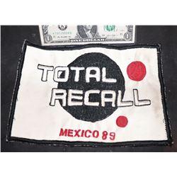 TOTAL RECALL ORIGINAL 1990 PRODUCTION CAST PATCH
