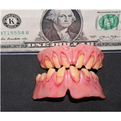 THE FLY SETH BRUNDLE SCREEN USED TRANSFORMATION TEETH