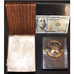 UNFORGIVEN PRODUCER GIFT GIVEN OUT BY CLINT EASTWOOD RARE PAPER WEIGHT