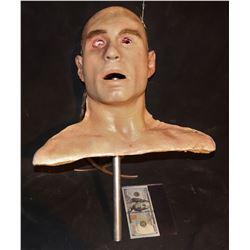 2001 MANIACS SILICONE HEAD WITH EYE STABBING BLOOD RIG