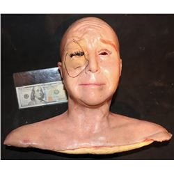 2001 MANIACS SILICONE HEAD WITH SEWING EYELIDS APPLIANCE SCREEN MATCHED