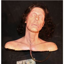 GWYNETH PALTROW SILICONE FULL BUST LIFE CAST WITH BLOOD RIG IN THROAT