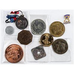 Estate - Group (10) Coins, Medals etc
