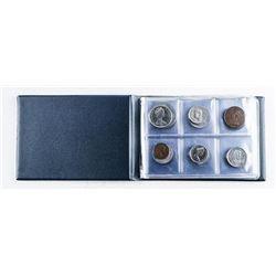 Coin Book - 24 World Mixed Coins