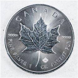 2016 Canada Maple Leaf 5.00 .999 Fine Silver  1oz
