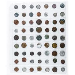 Group of (63) Foreign World Coins
