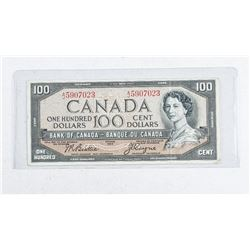 Bank of Canada 1954 100.00 B/C