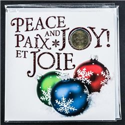 2015 RCM Peace and Joy Coin Folio with  Special Issue Dollar