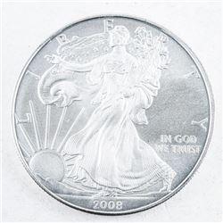 USA 2008 Eagle Dollar .999 Fine Silver 1oz