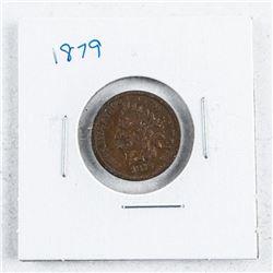 1879 USA Indian Head Penny. F12