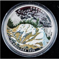 RCM Mountain Goat .9999 Fine Silver $20.00  Coin LE/C.O.A.