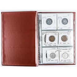 Canada- Starter Coin Book with 12 Coins  Includes Silver