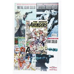 Group (5) Metal Gear and Avengers Comics