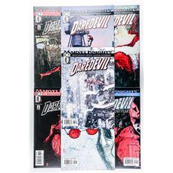 Group (7) Daredevil Comic Set