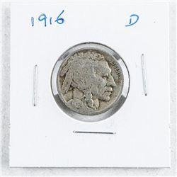USA 1916 (D) Indian Head Nickel