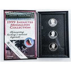RCM/Hall of Fame 1999 Inductee 3 Coin Set  with Gretzky