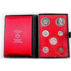 RCM Prestige Specimen Coin Set , Leather Case  1971