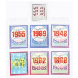 Group of 'SCORE' 3-D Mini Baseball Cards