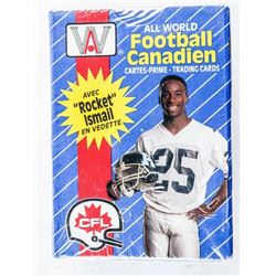 All World Canadian Football 110 Cards Sealed  with Rocket Ismail Rookie