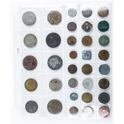 Group (34) Foreign Coins