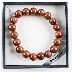 Goldstone - Bead Bracelet