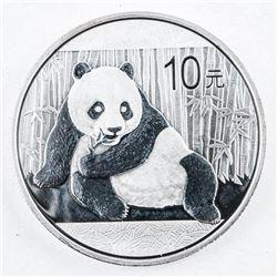 .9999 Fine Silver 10 Yuan Panda Coin 2017