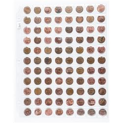 Group of (88) Canada One Cent Coins: No  Longer Produced Since 2012