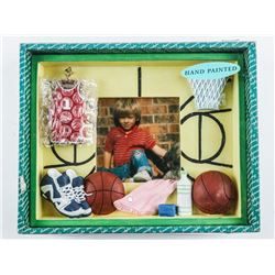"""Hand Painted Photo Frame 5x3"""""""