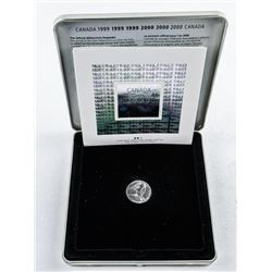 Canada Post Official Millennium Keepsake -  Stamp and Coin Set.