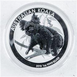 Australian Koala - 2019 .9999 Fine Silver 1oz  $.100 Proof