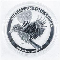 Australia .999 Fine Silver 1oz Collector  Bullion 'Kookaburra'