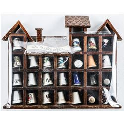 Thimbleville Collection with Display