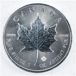 RCM 2016 Maple Leaf Coin .999 Fine Silver 1oz
