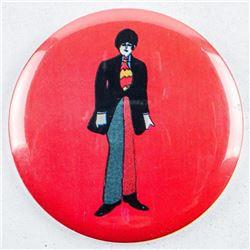 Estate 1968 England Vintage Beatles Button  (MIR)