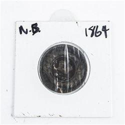 N.B. 1864 1 Cent