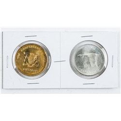 Lot - 1967 Canada Silver Dollar and Medal.