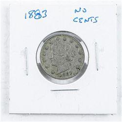 1873- US 'V' Coin 'NO CENTS'