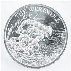 The Werewolf .999 Fine Silver 2oz Coin